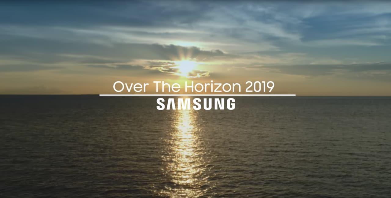 """Samsung celebra i 10 anni di """"Over the Horizon"""": sarà questa la suoneria di S10? (video)"""