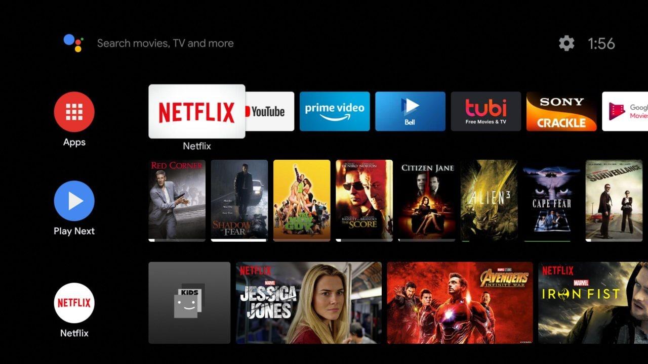 L'interfaccia di Android TV si aggiorna e si allinea con