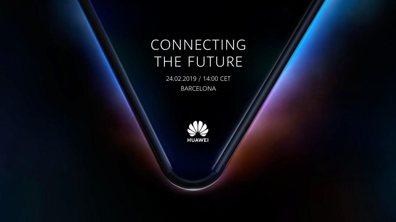 Huawei mostrerà il suo smartphone pieghevole 5G il 24 febbraio al MWC 2019