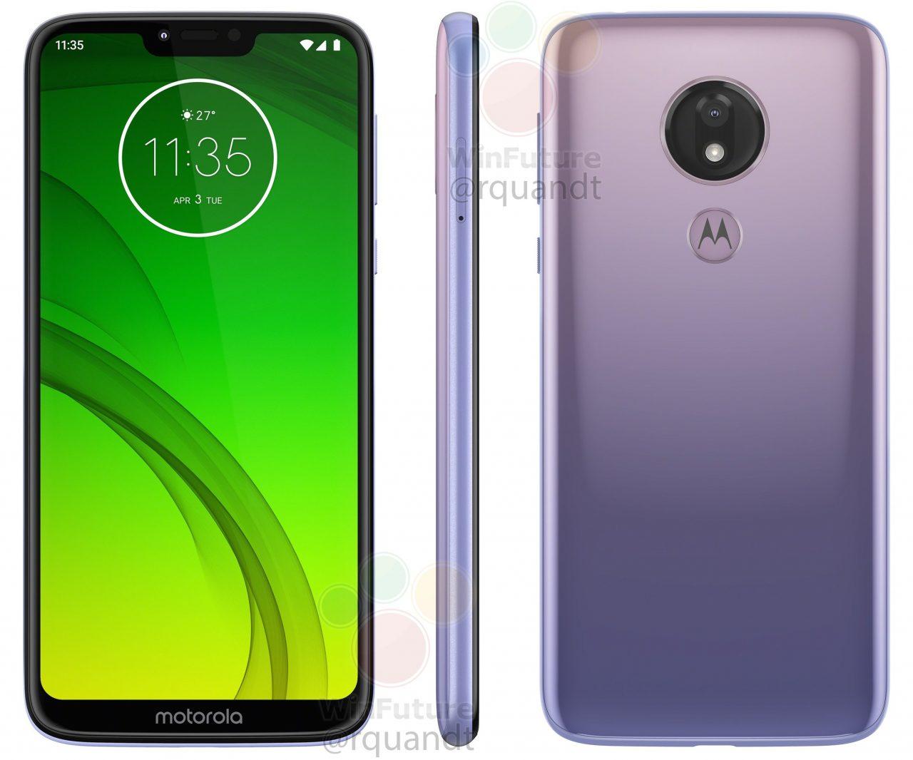 Motorola Moto G7 Power potrebbe arrivare anche in questa originalissima colorazione violetta