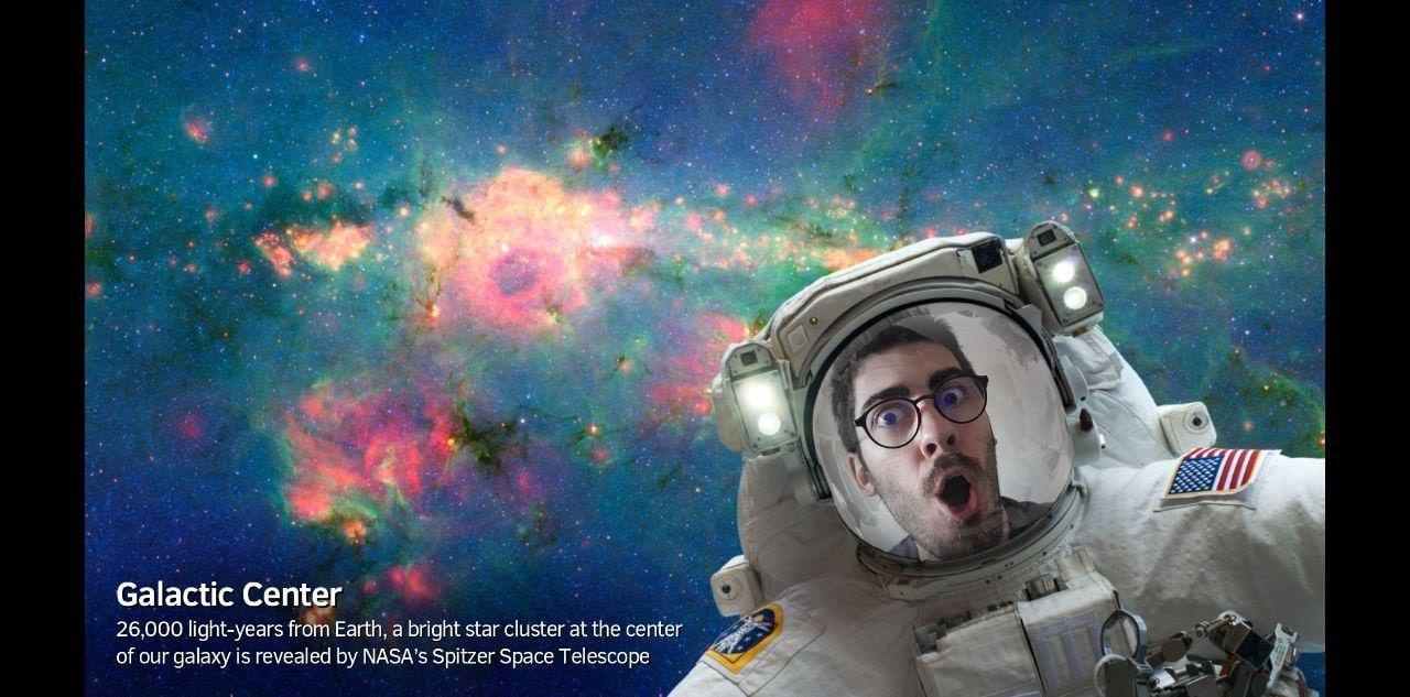 Con NASA Selfies potete farvi un selfie nello spazio... E basta (foto)