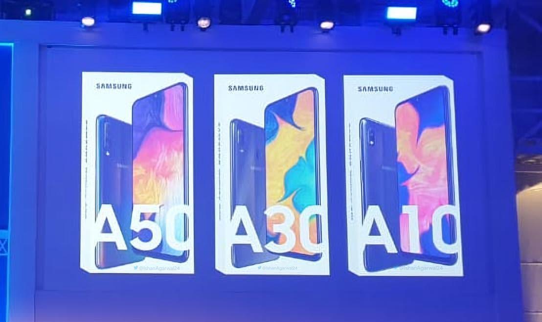 Galaxy A10, A30 e A50: svelati design e possibili specifiche tecniche (foto   aggiornato)
