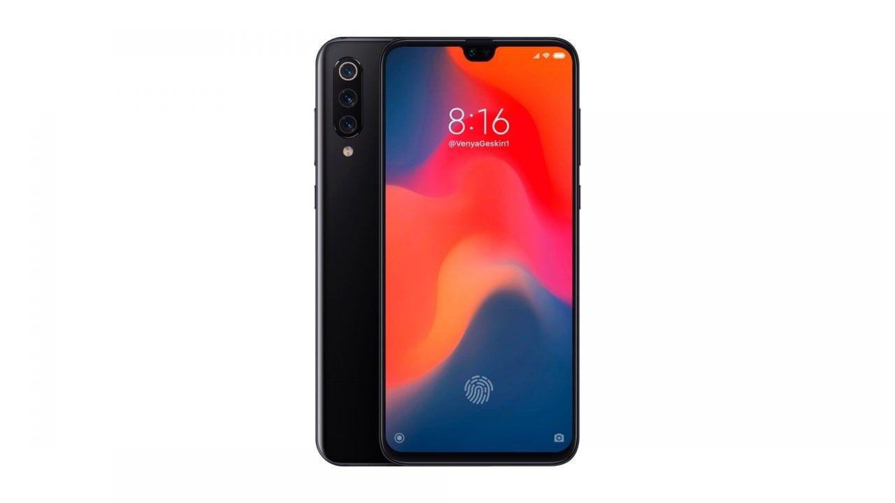 Sarà questo Xiaomi Mi9? Tripla fotocamera posteriore, lettore d'impronte nel display e notch (foto)