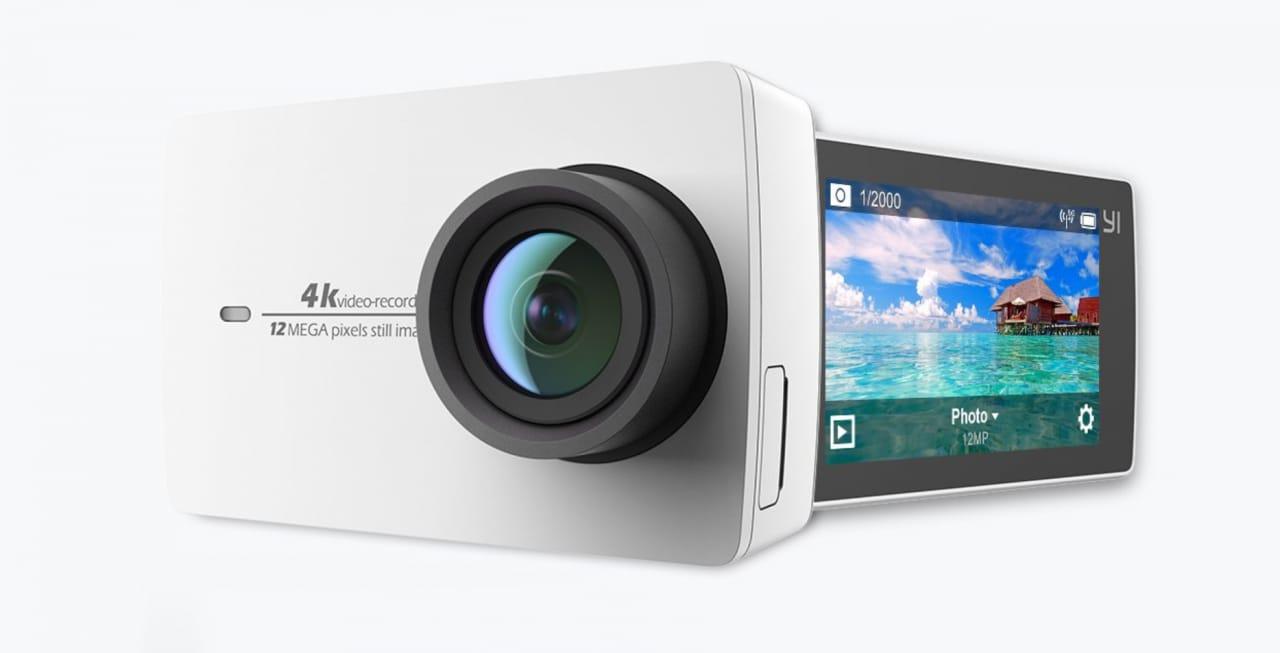 Super offerta per Yi 4K Action Camera: sconto di 45€ su Amazon con questo coupon
