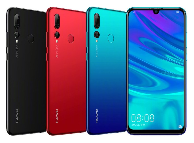 Huawei presenta ufficialmente i gemelli cinesi di P Smart+ 2019 e Y6 (2019) (foto)