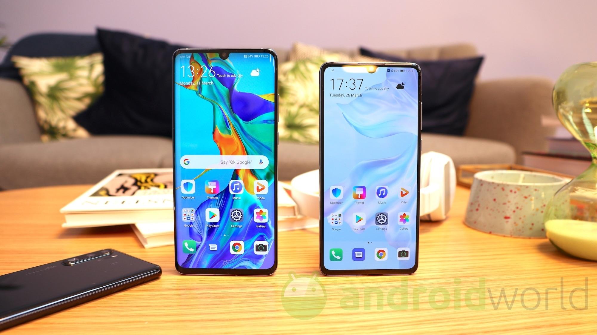 Passione per i nuovi Huawei P30 e P30 Pro? Provate tutti i loro sfondi e temi ufficiali (foto)