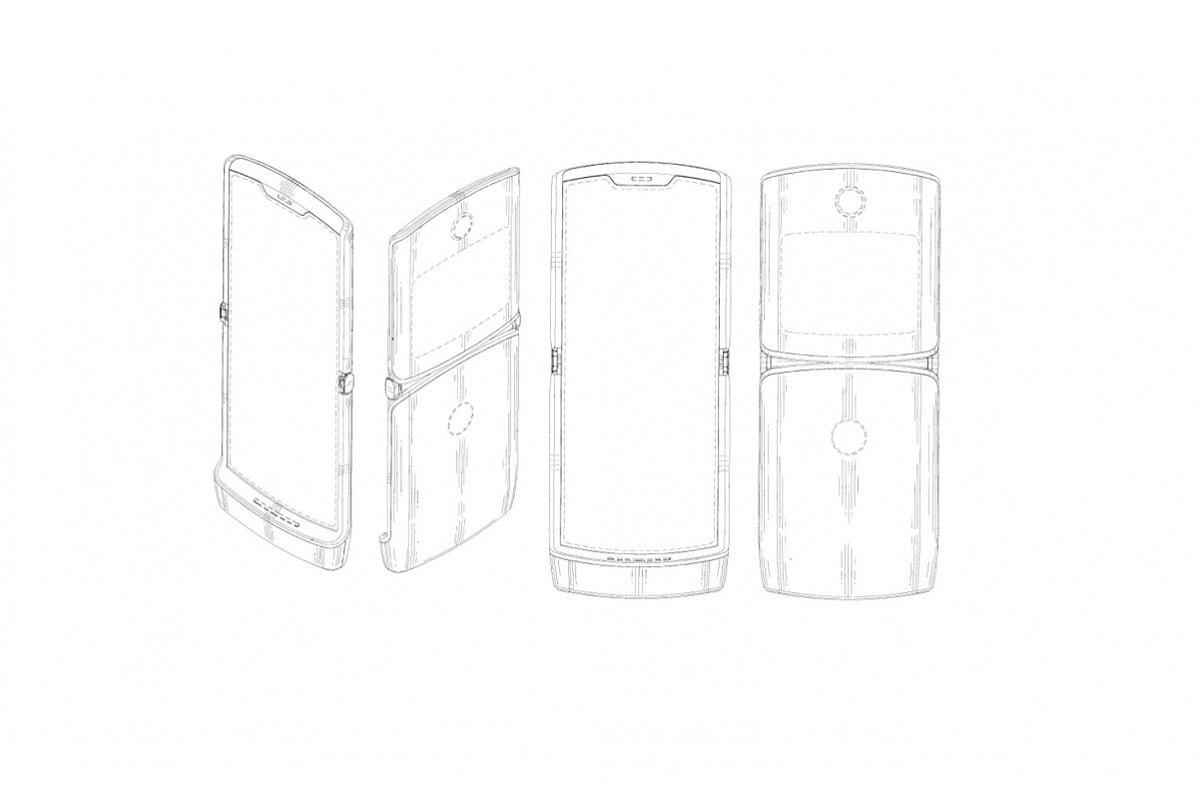 Nuove conferme sul design dual-screen di Motorola Razr 2019 con i primi dettagli sul suo funzionamento (foto)