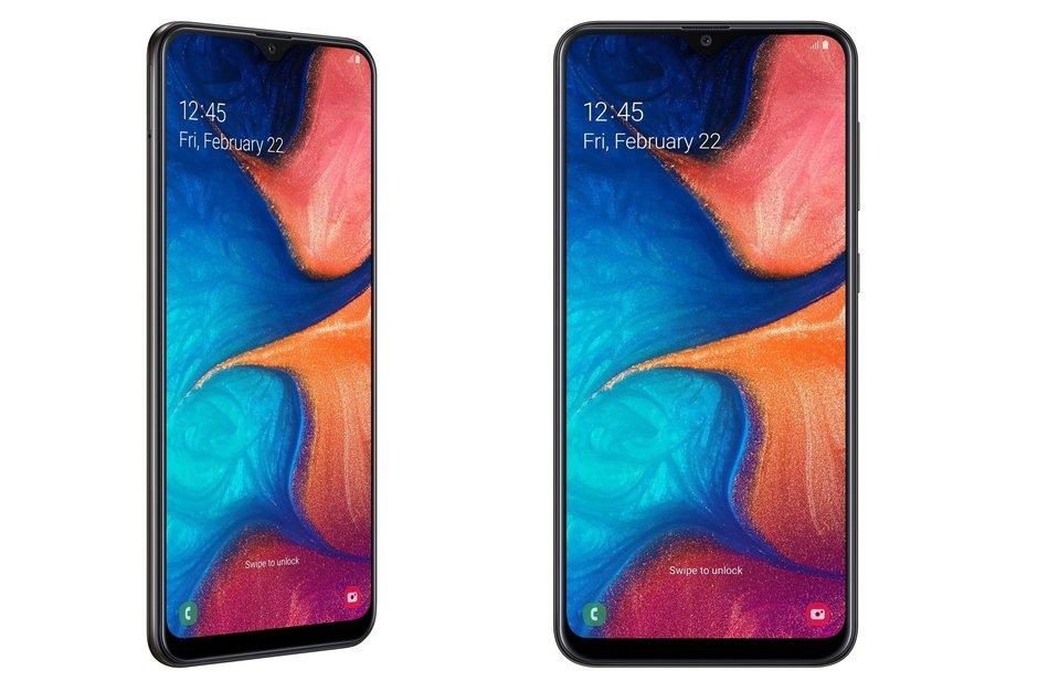 Samsung vuole completare la gamma Galaxy A: ufficiale Galaxy A20 ed in test Galaxy A60 con Infinity-O (video e foto)