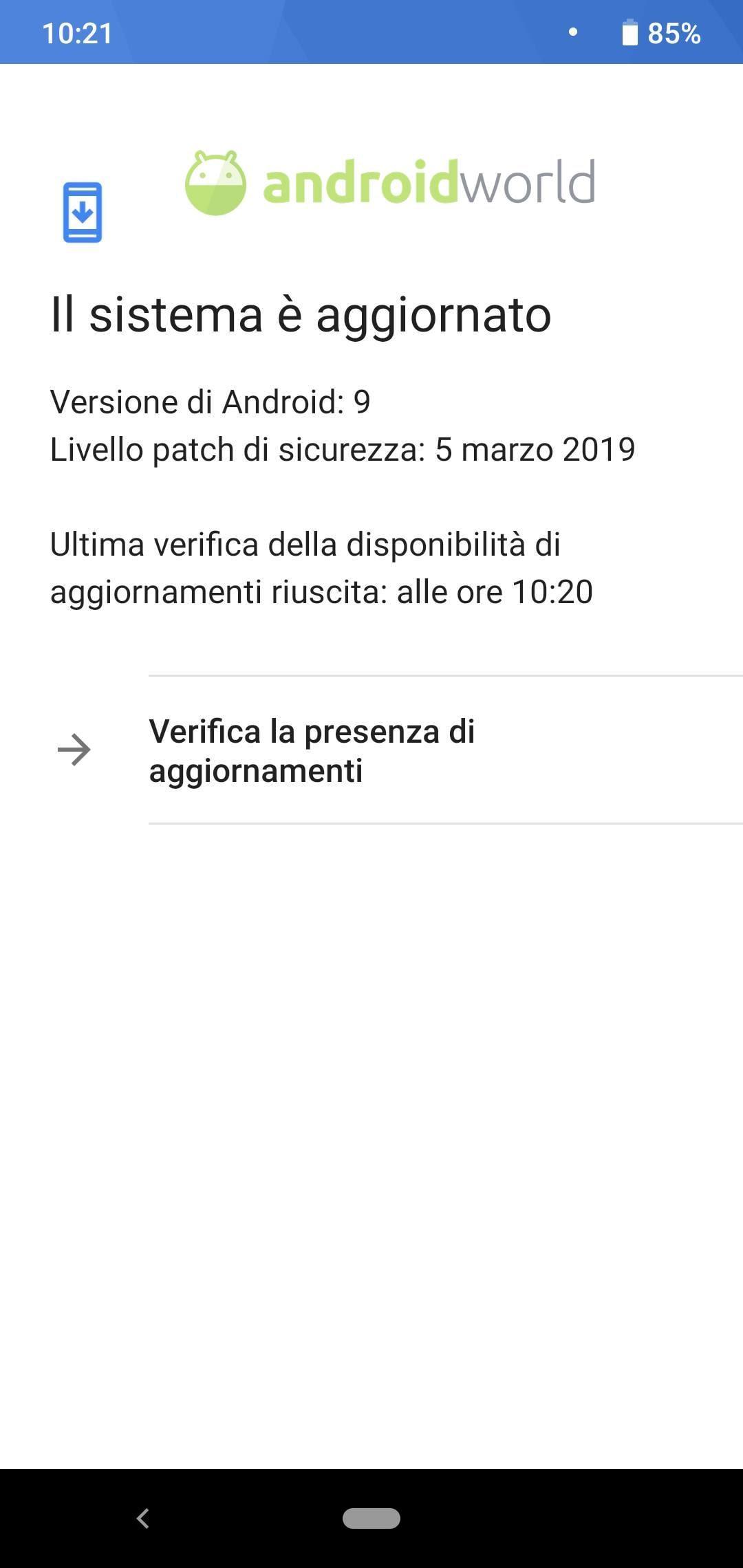 Xiaomi Mi A2 Lite patch marzo 2019-1