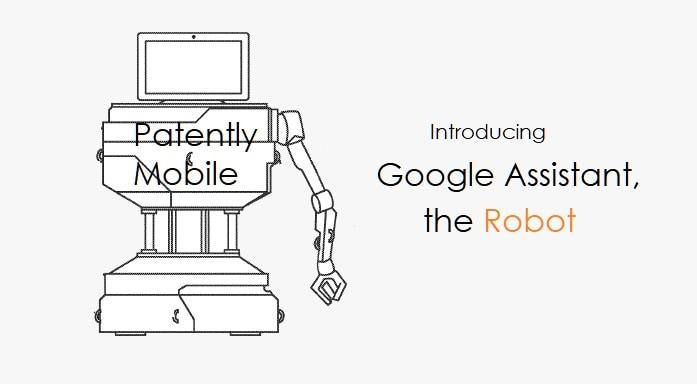 """Google immagina un robot con Assistant che possa anche """"spostare le persone"""""""