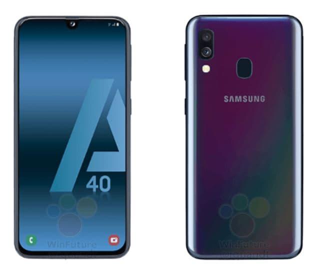 Uno sguardo al prossimo Samsung Galaxy A40: il medio-gamma con Infinity-U (foto) (aggiornato con foto e specifiche)