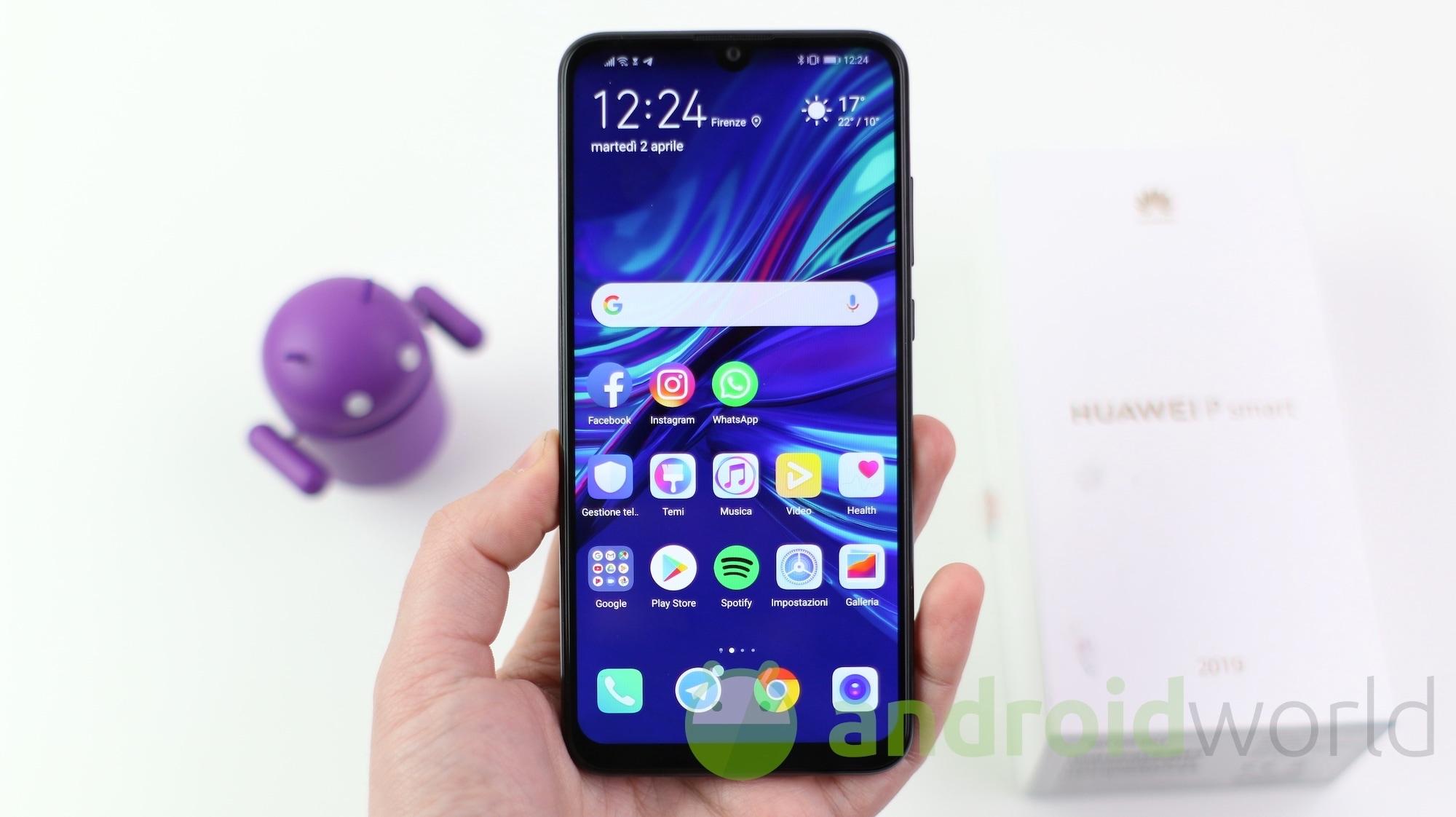 Huawei P Smart+ 2019, OnePlus 6T e Honor Play oggi al miglior prezzo su Amazon