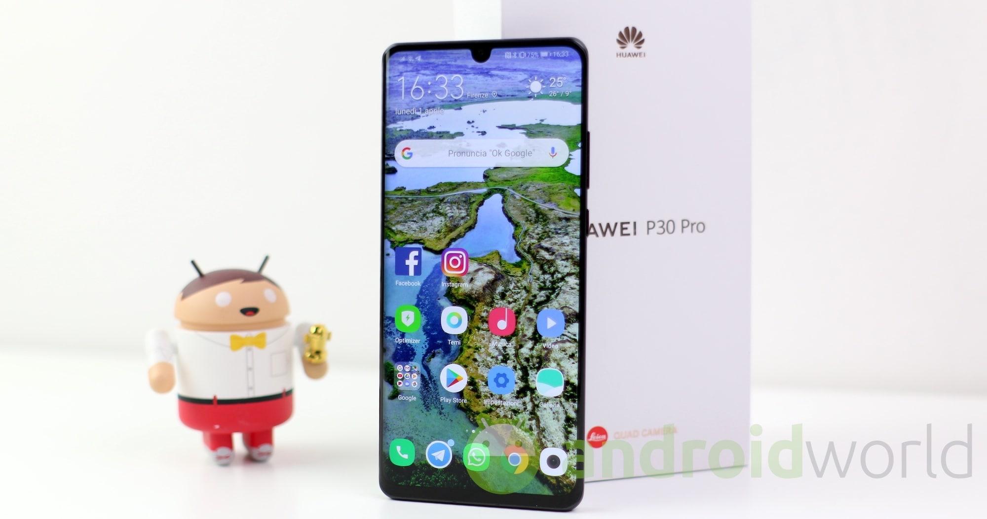 Tris di Huawei in super sconto su eBay: P30 Pro, Mate 20 Lite e P Smart 2019