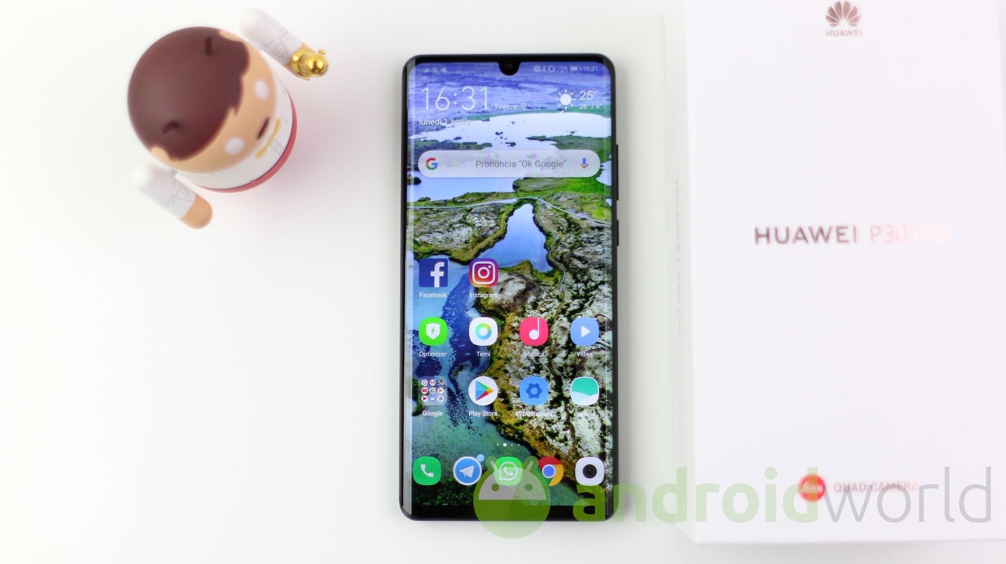 Limportante è Essere Belli Dentro Ecco Un Wallpaper Di Huawei P30