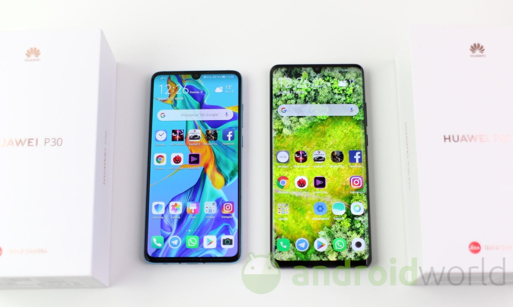 Alcuni Huawei P30 Pro con la beta di Android 10 hanno problemi con SafetyNet