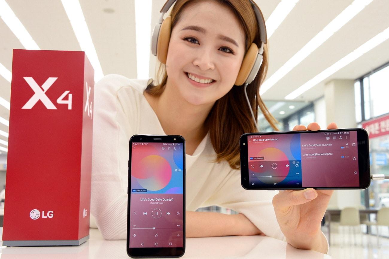 LG X4 (2019) ufficiale in Corea: super resistente, ma poco convincente (foto)