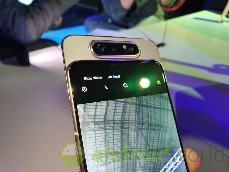 Galaxy A80 è atterrato su eBay e potete già acquistarlo ad un prezzo scontato, grazie a questo codice promo