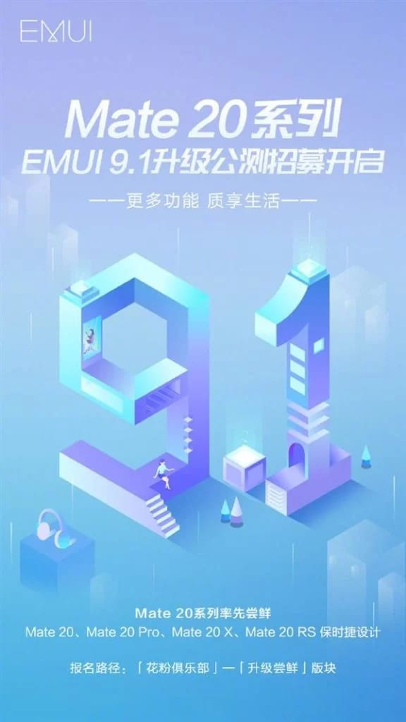 Gli utenti attivi che usano EMUI sono 470 milioni e intanto sono partiti tanti beta test di EMUI 9.1 in Cina