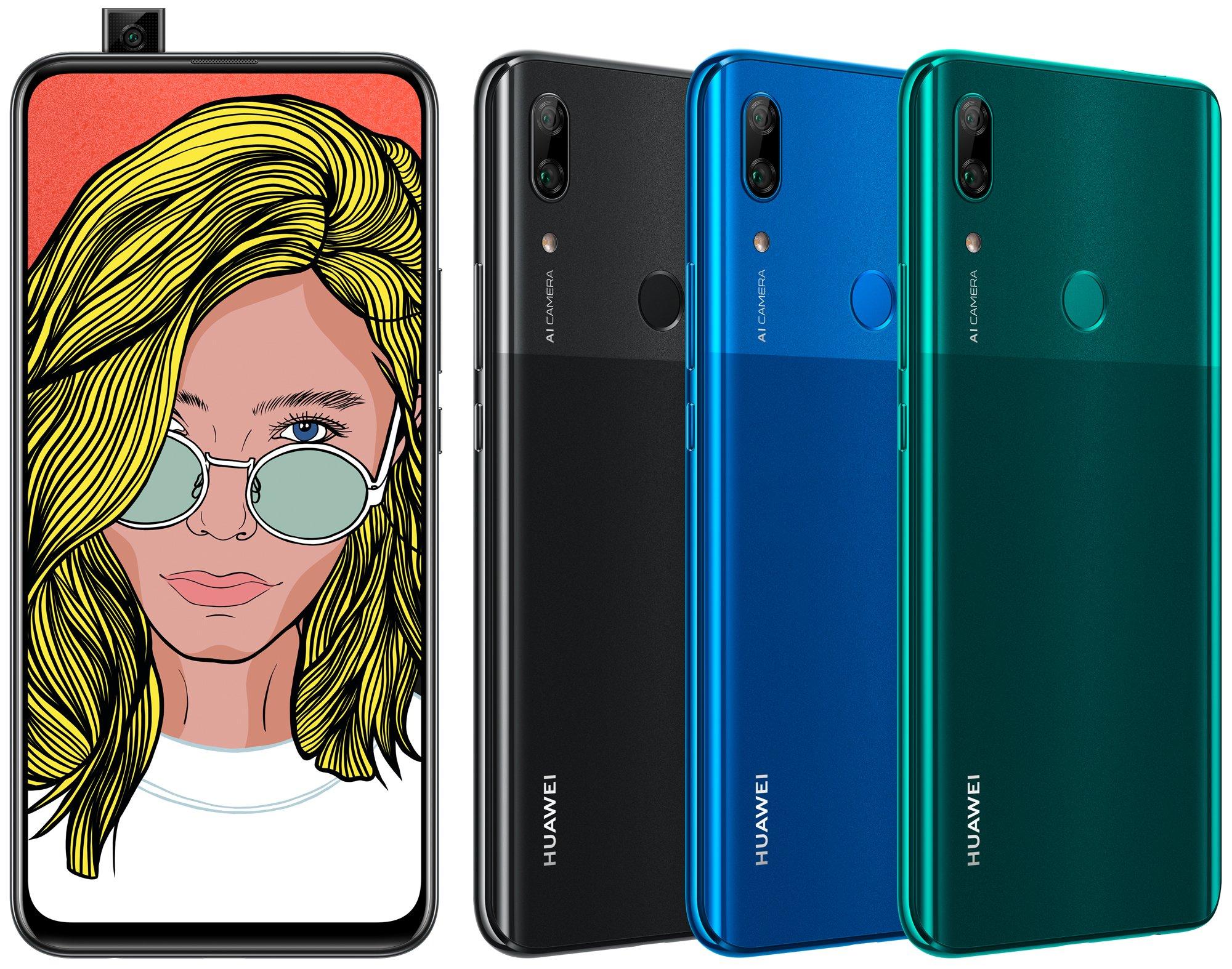 Huawei P Smart Z potrebbe essere il primo smartphone Huawei con fotocamera a scomparsa (aggiornato)