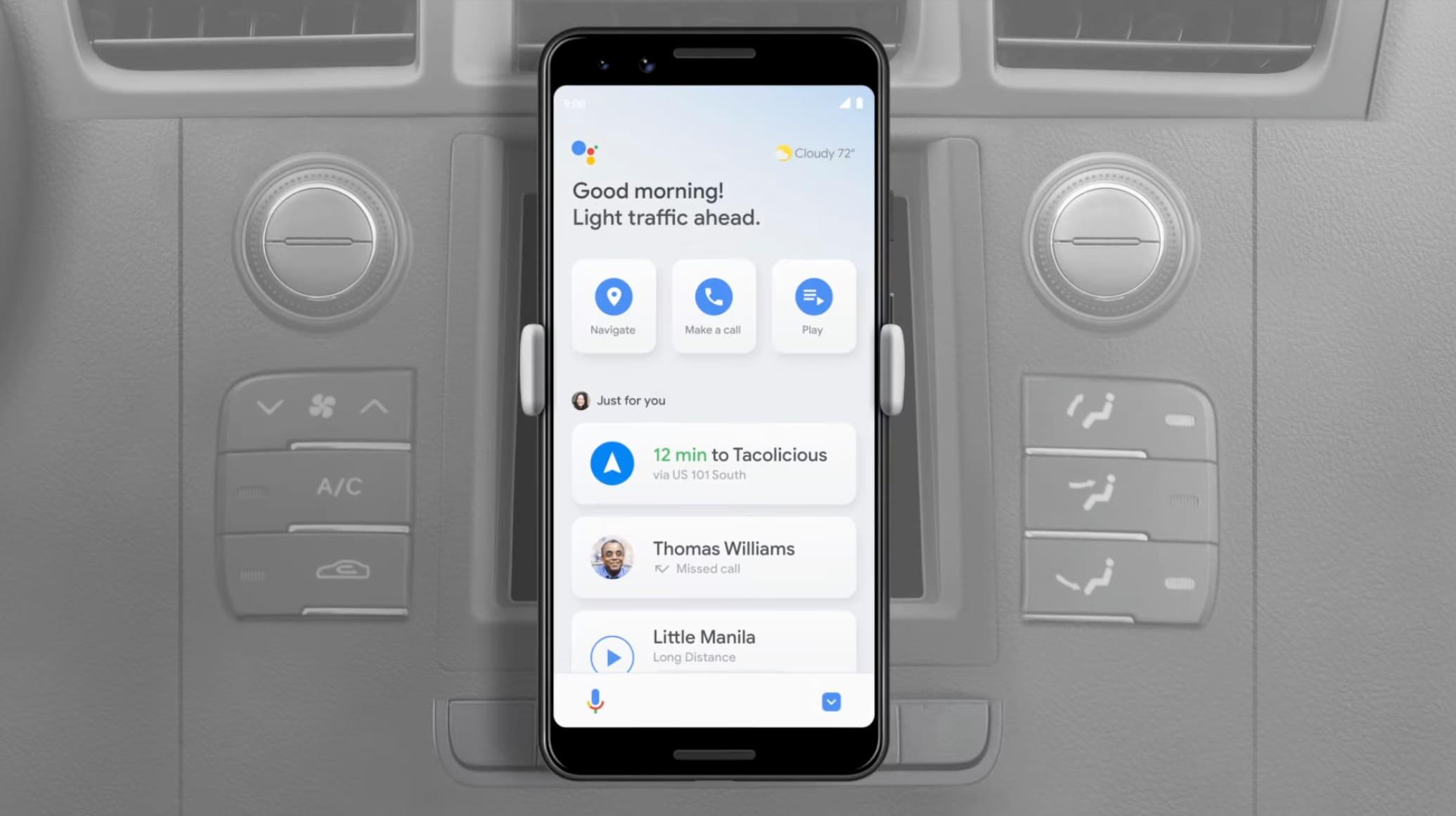 Addio Android Auto per smartphone: la modalità alla guida di Assistant è finalmente in rollout!