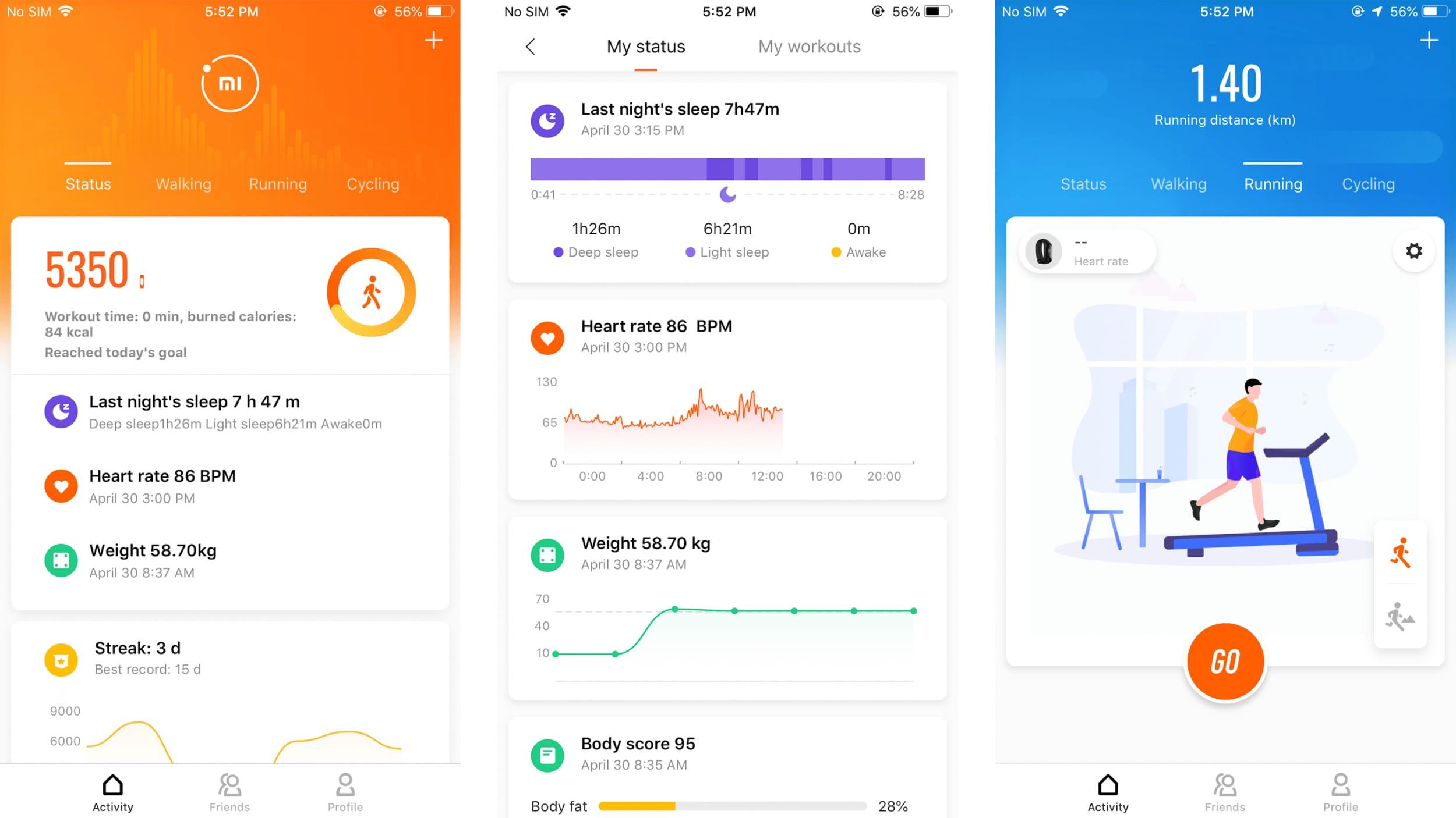 Mi Fit 4.0 riceve un bell'aggiornamento nella grafica e propone tanti nuovi esercizi (foto e APK download)