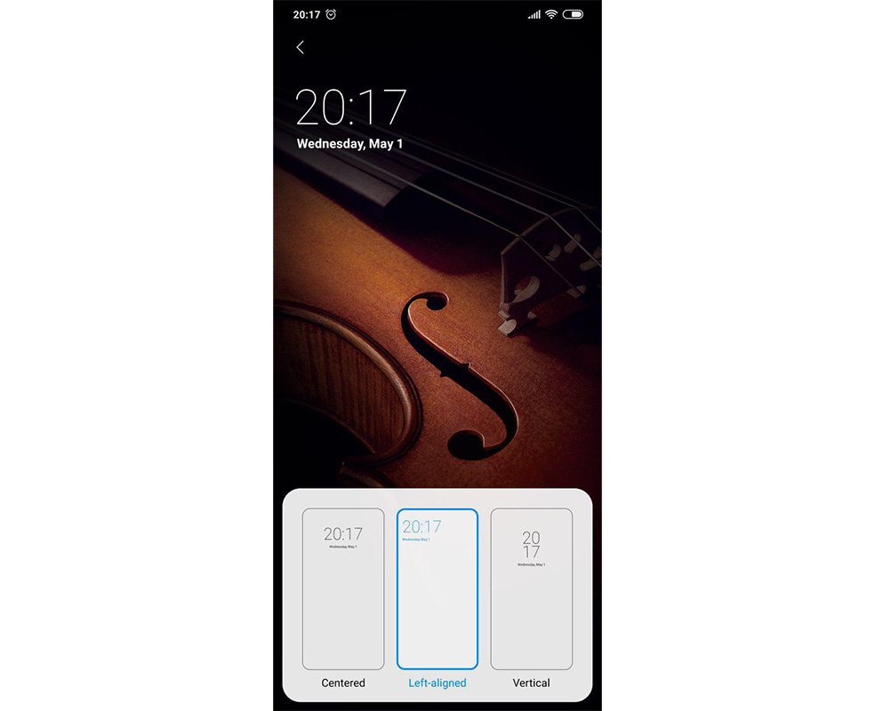 miui-10-lock-screen-clock-widget