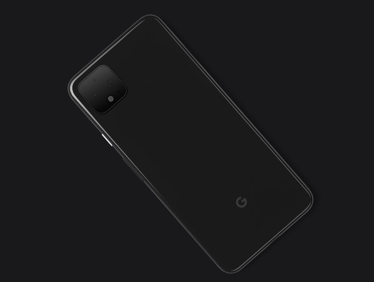 google pixel 4 back cover official