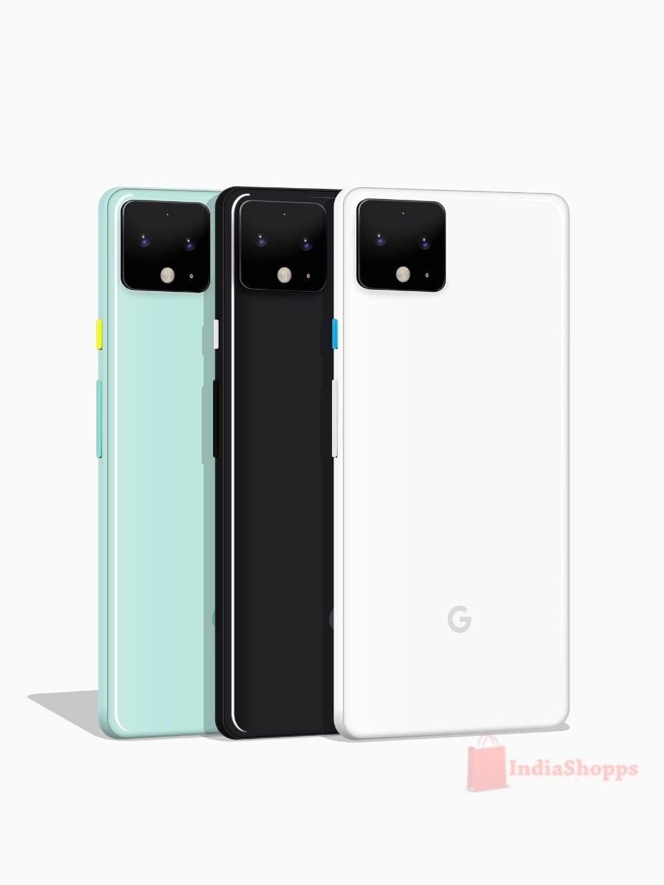 google pixel 4 mint green (4)