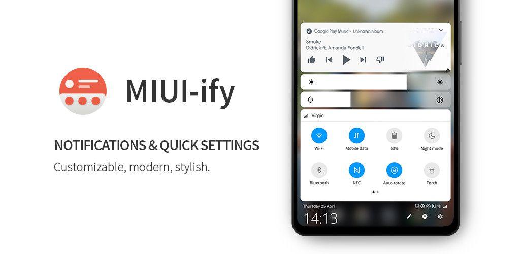 Volete un pannello notifiche che sale dal basso e con la grafica di MIUI 10 o di Android Stock? (foto)