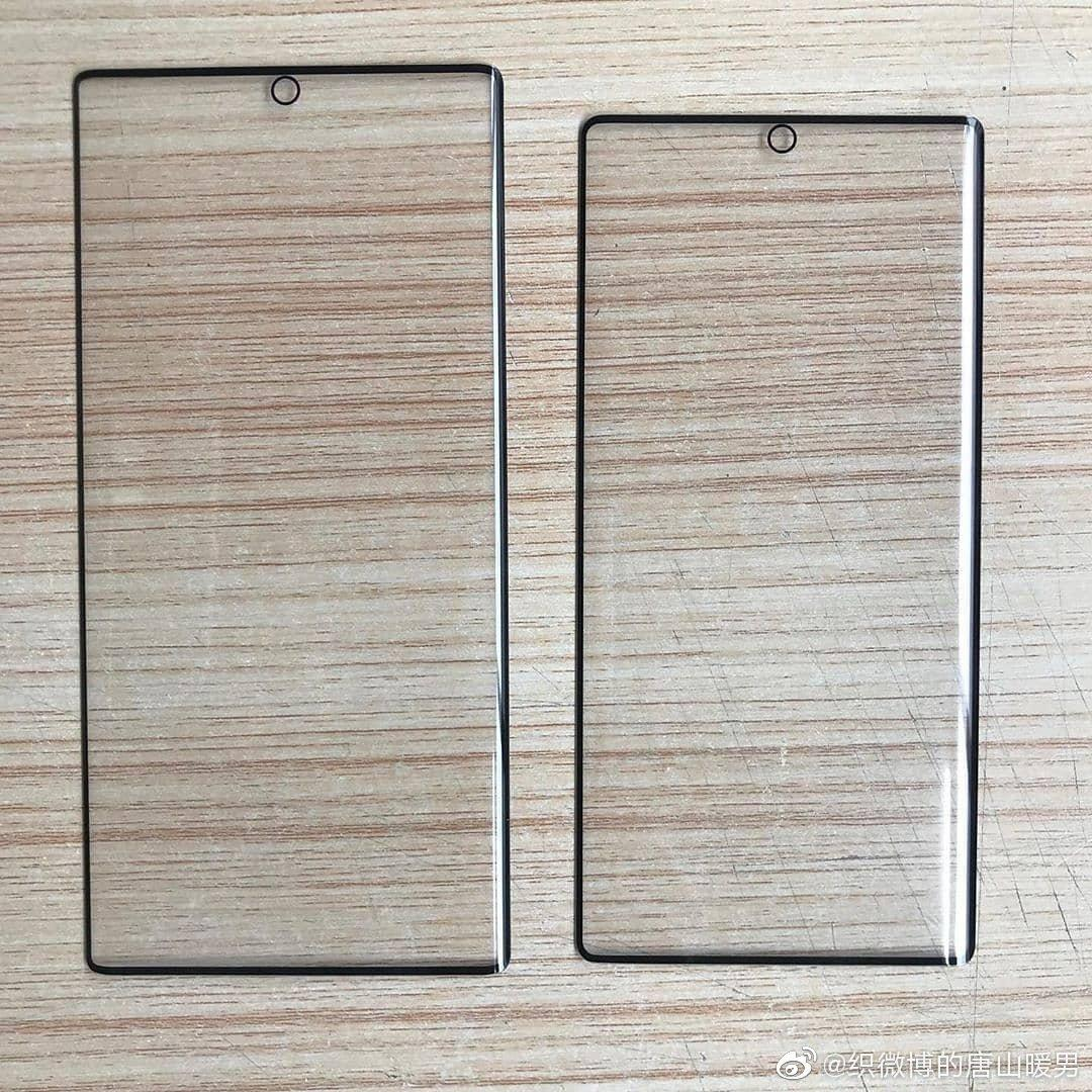 Ecco le dimensioni di Samsung Galaxy Note 10 e Note 10 Pro a confronto (foto)