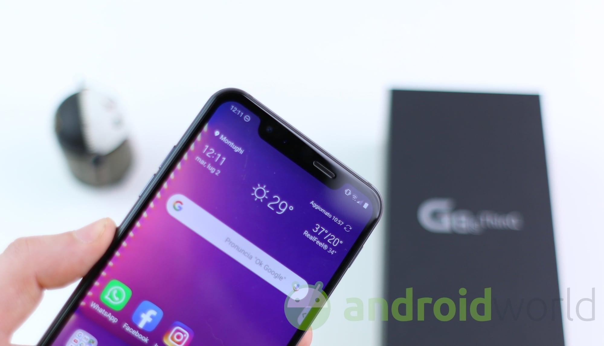 LG rilascia l'aggiornamento ad Android 10 per LG G8s ThinQ insieme alle patch di sicurezza di agosto (foto)