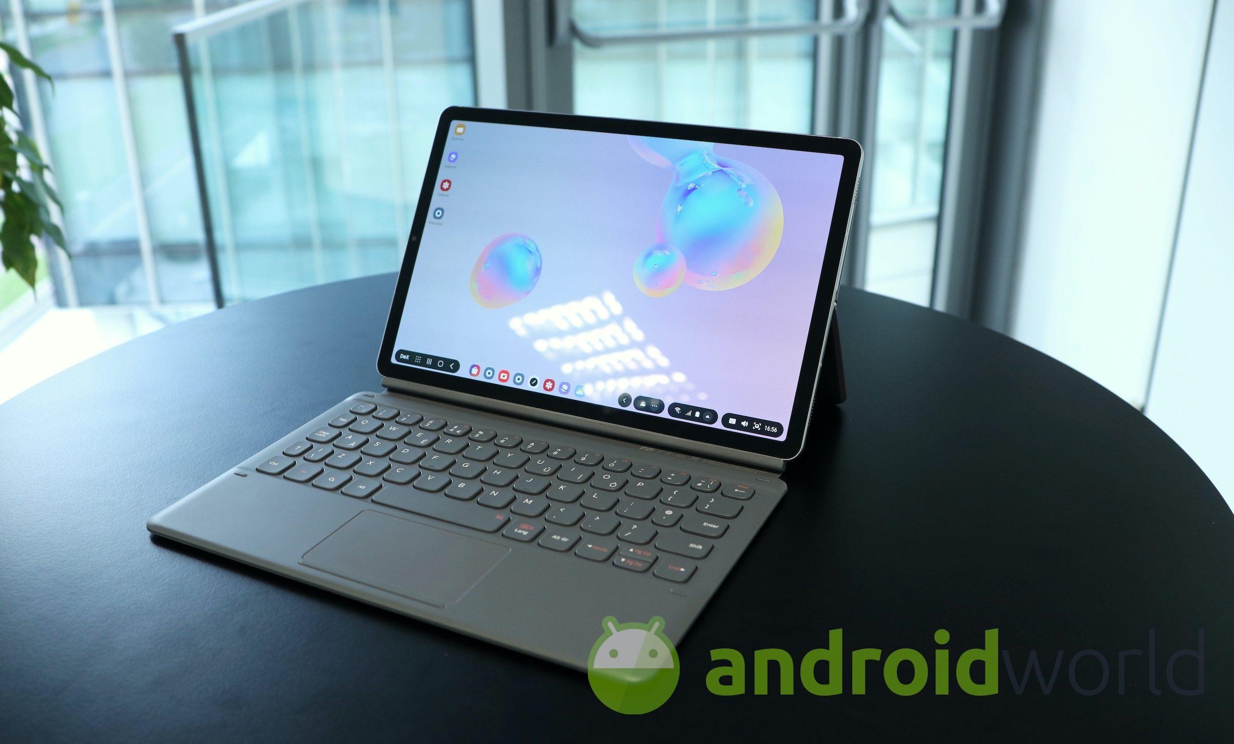 Il primo tablet 5G al mondo? Samsung candida il suo Galaxy Tab S6 al trono (foto)