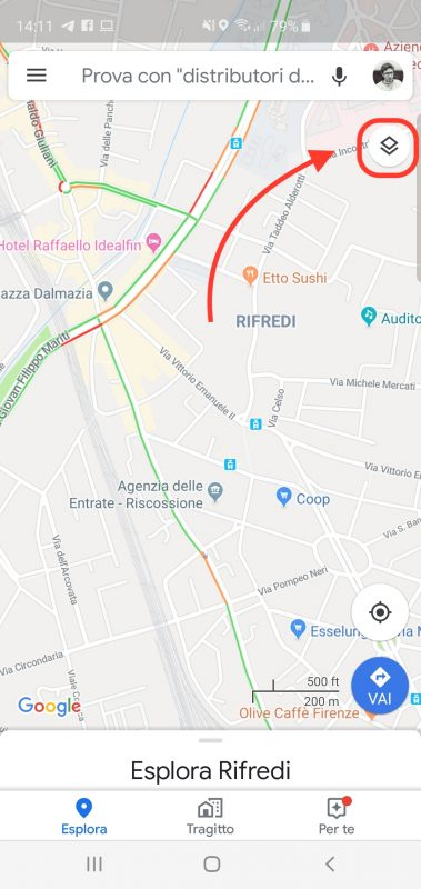 Google Maps | Satellite | Navigatore | Autovelox | 3D
