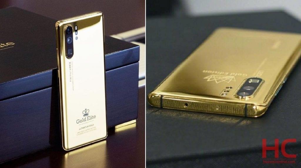 Anche Huawei P30 Pro ha la sua tamarrissima versione in oro 24K (foto)