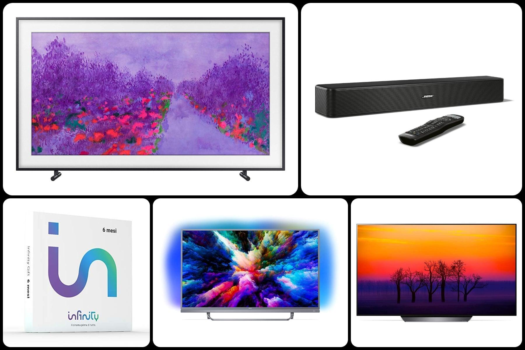 Le 10 migliori offerte TV Prime Day 2019: OLED, QLED, TV economici e soundbar