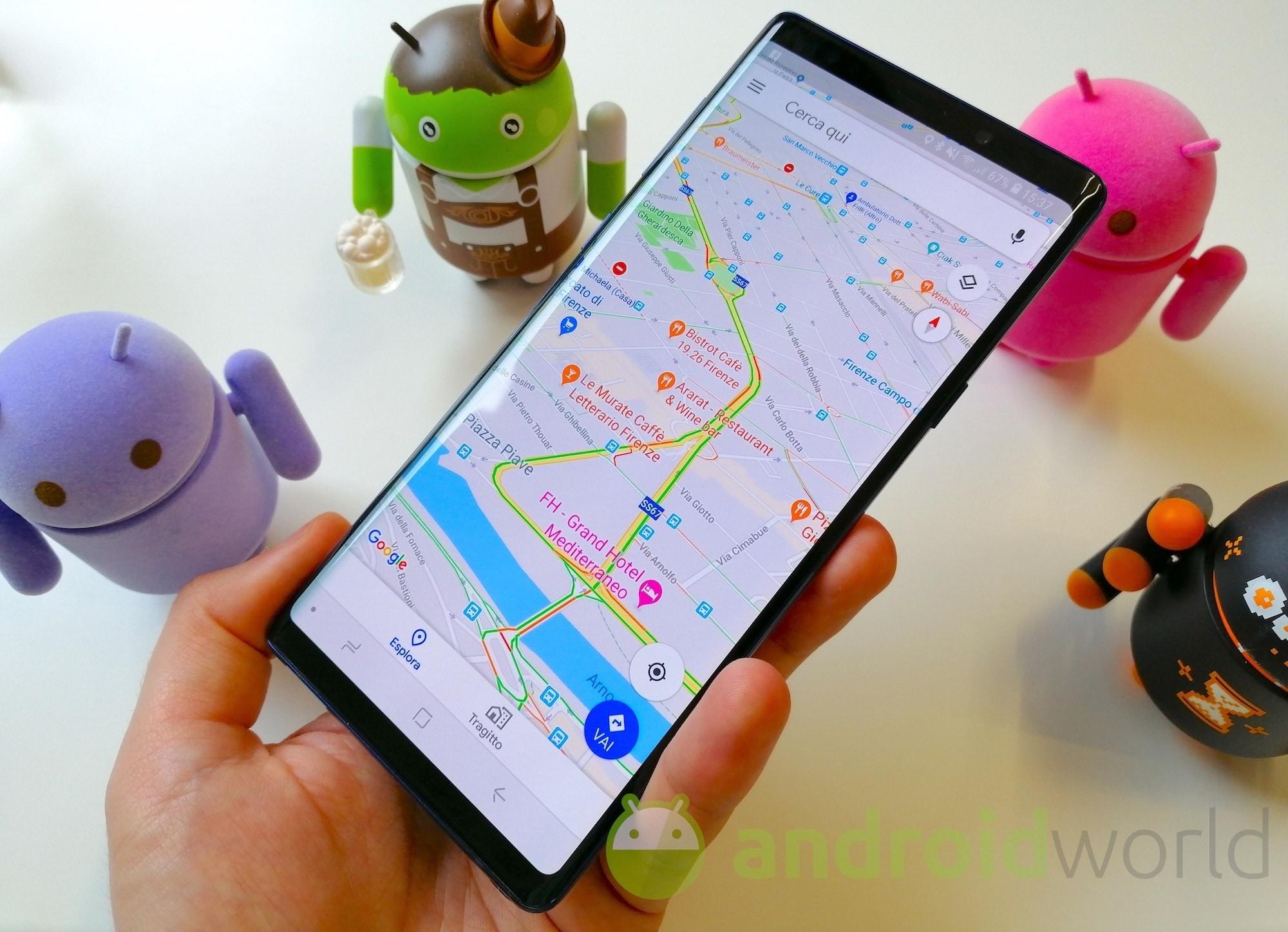 Street View ora è a portata di mano su Google Maps per Android: avete ricevuto la novità? (foto)