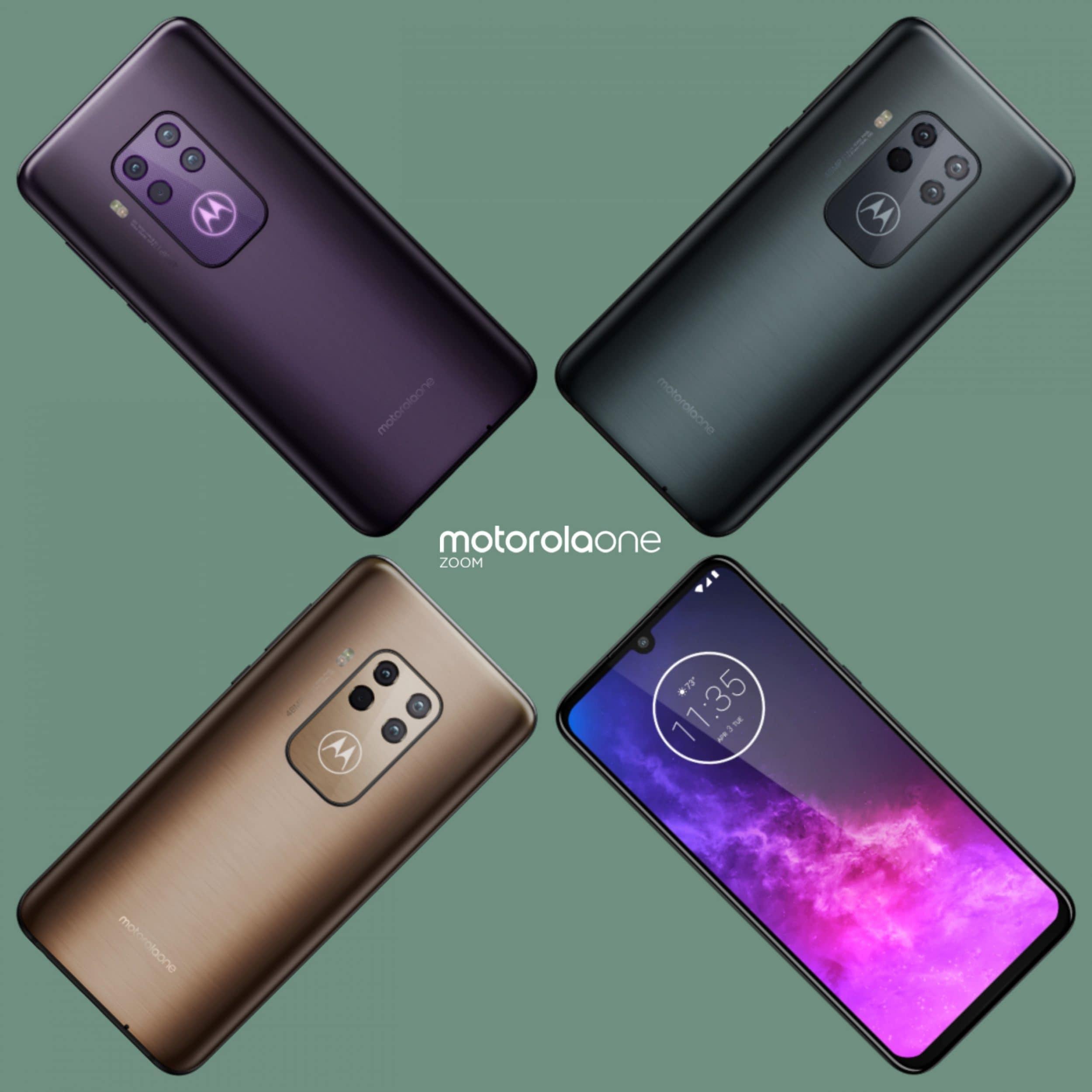 Un medio-gamma con quad-camera? Si chiama Motorola One Zoom e lo vedremo al prossimo IFA (aggiornato: immagini dal vivo)
