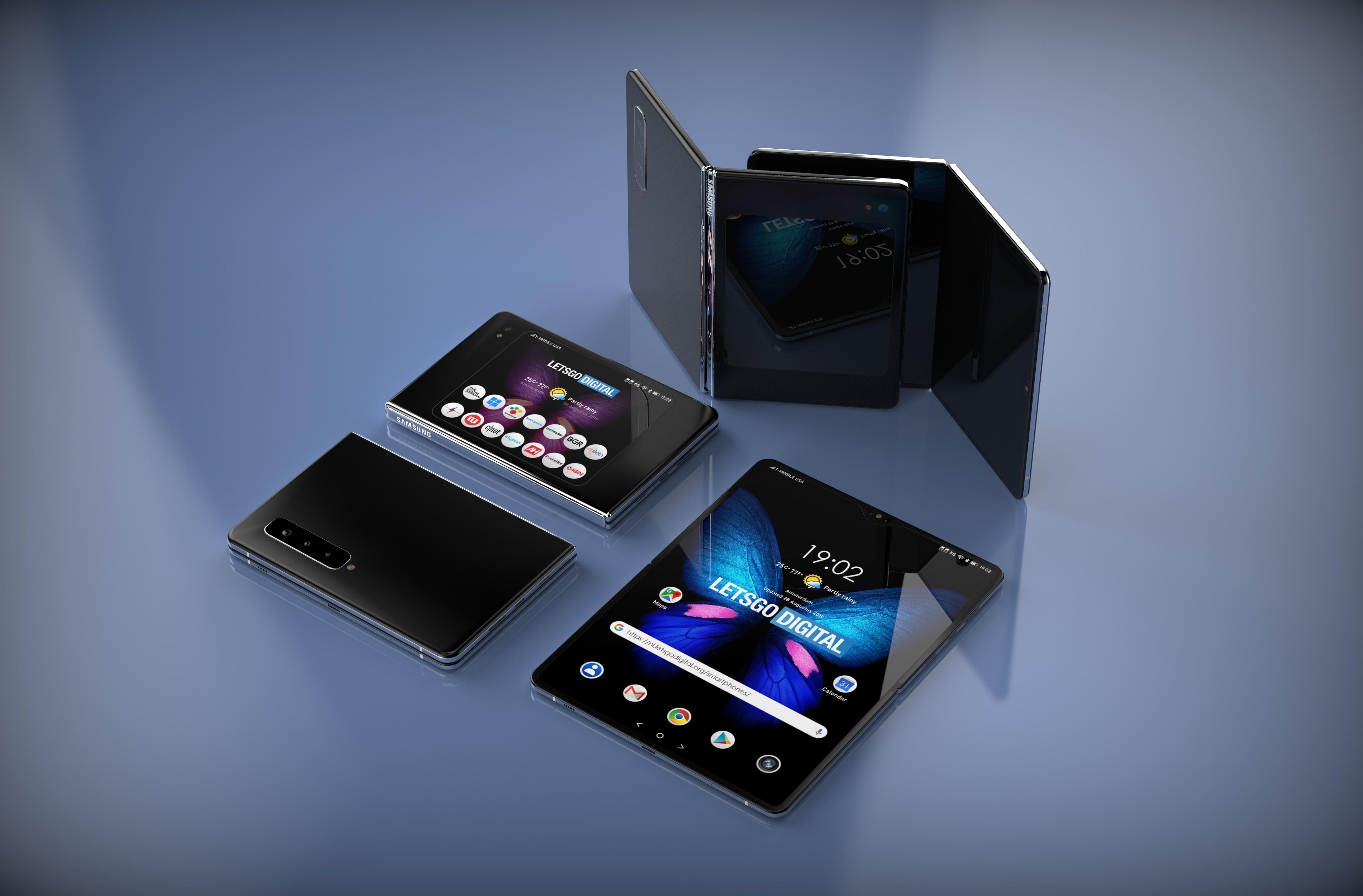 Samsung Galaxy Fold 2 render (3)