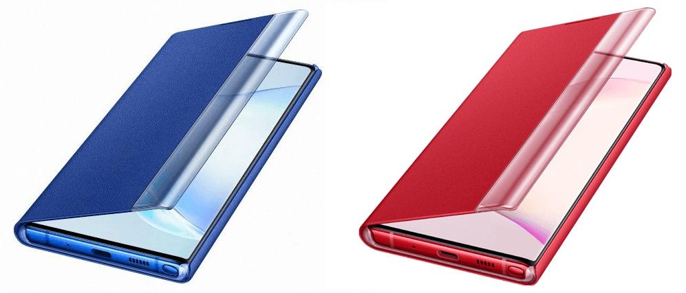 Quante cose interessanti svelano le immagini ufficiali delle custodie Samsung per Galaxy Note 10/10+... (foto)