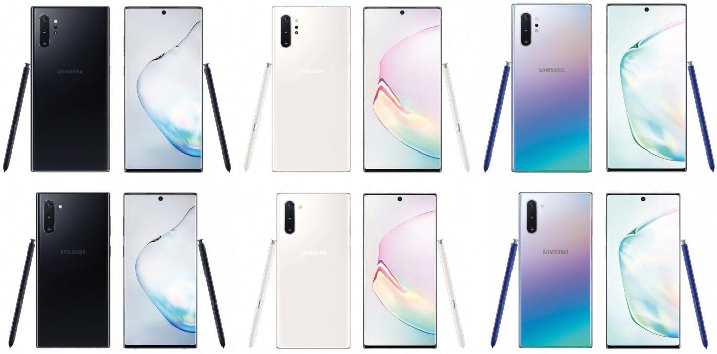 Admirez les détails du nouveau Samsung Galaxy Note  10 / 10+ au dernier rendu, en compagnie de leur stylo S Pen (photo) 1