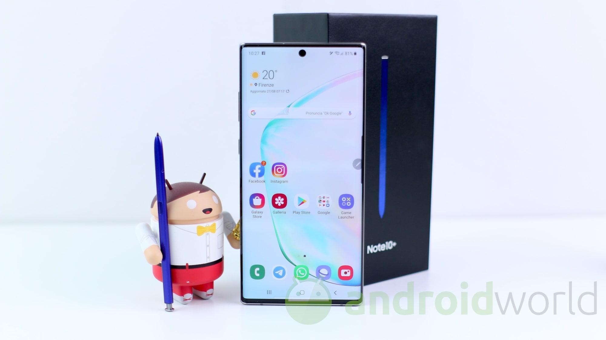 La LineageOS 16 (non ufficiale) arriva per Galaxy Note 10 / Note 10+