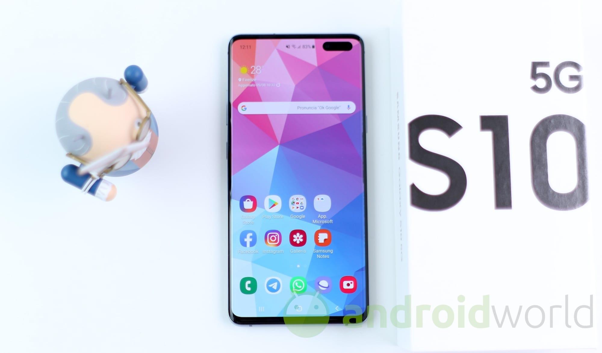 Samsung Galaxy S10 5G – 1