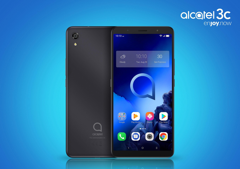 """Alcatel 3C 2019 è ufficiale: 6,7"""" con Android Pie, ma senza LTE, a 120€ (foto)"""