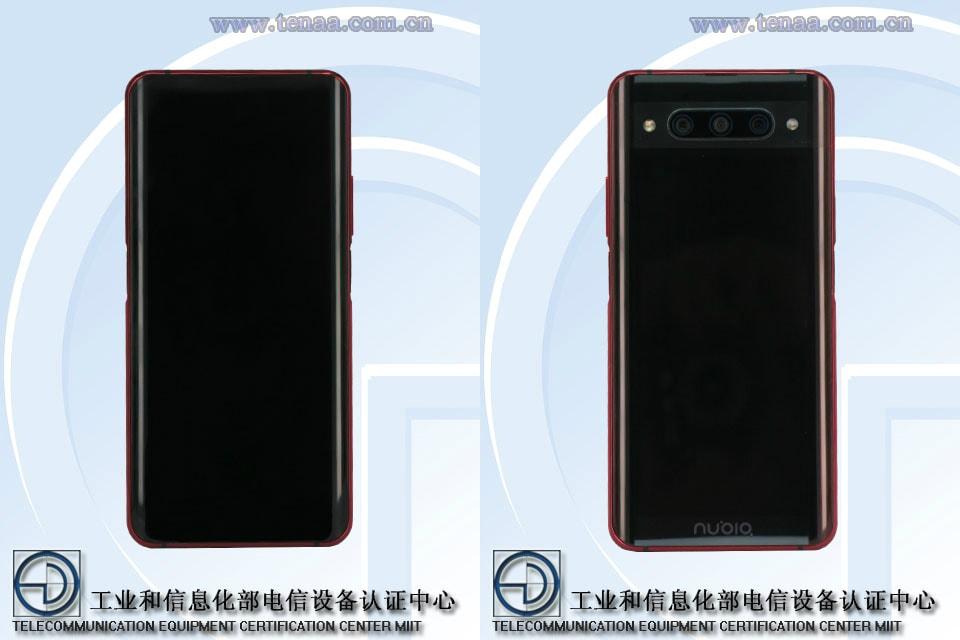 Nubia Z20 avrà 2 display e 2 lettori di impronte (nessuno dei quali integrato nello schermo) (foto)