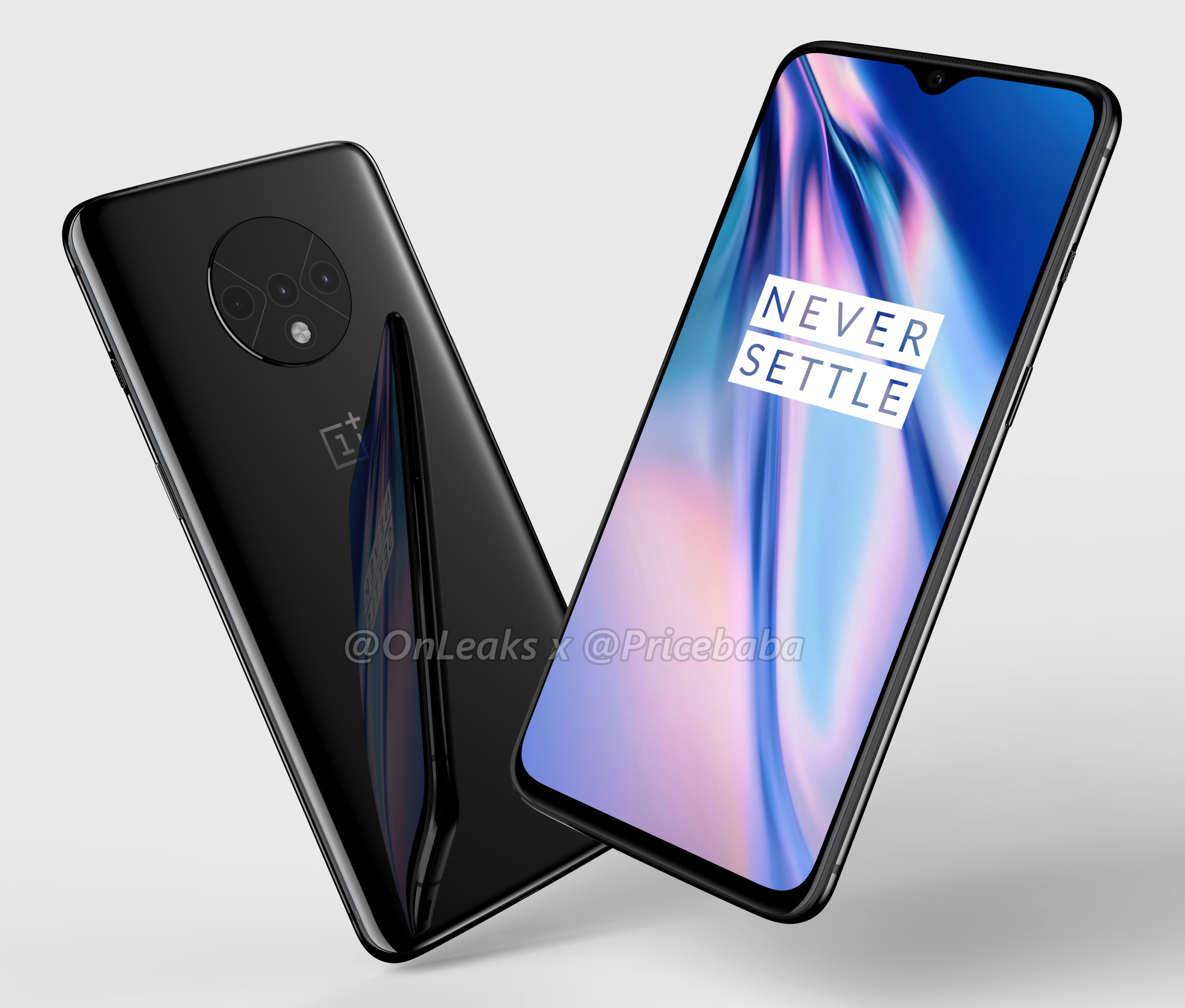 OnePlus 7T will have a more innovative design than the Pro variant: new confirmations from the rear houses (photo) 1