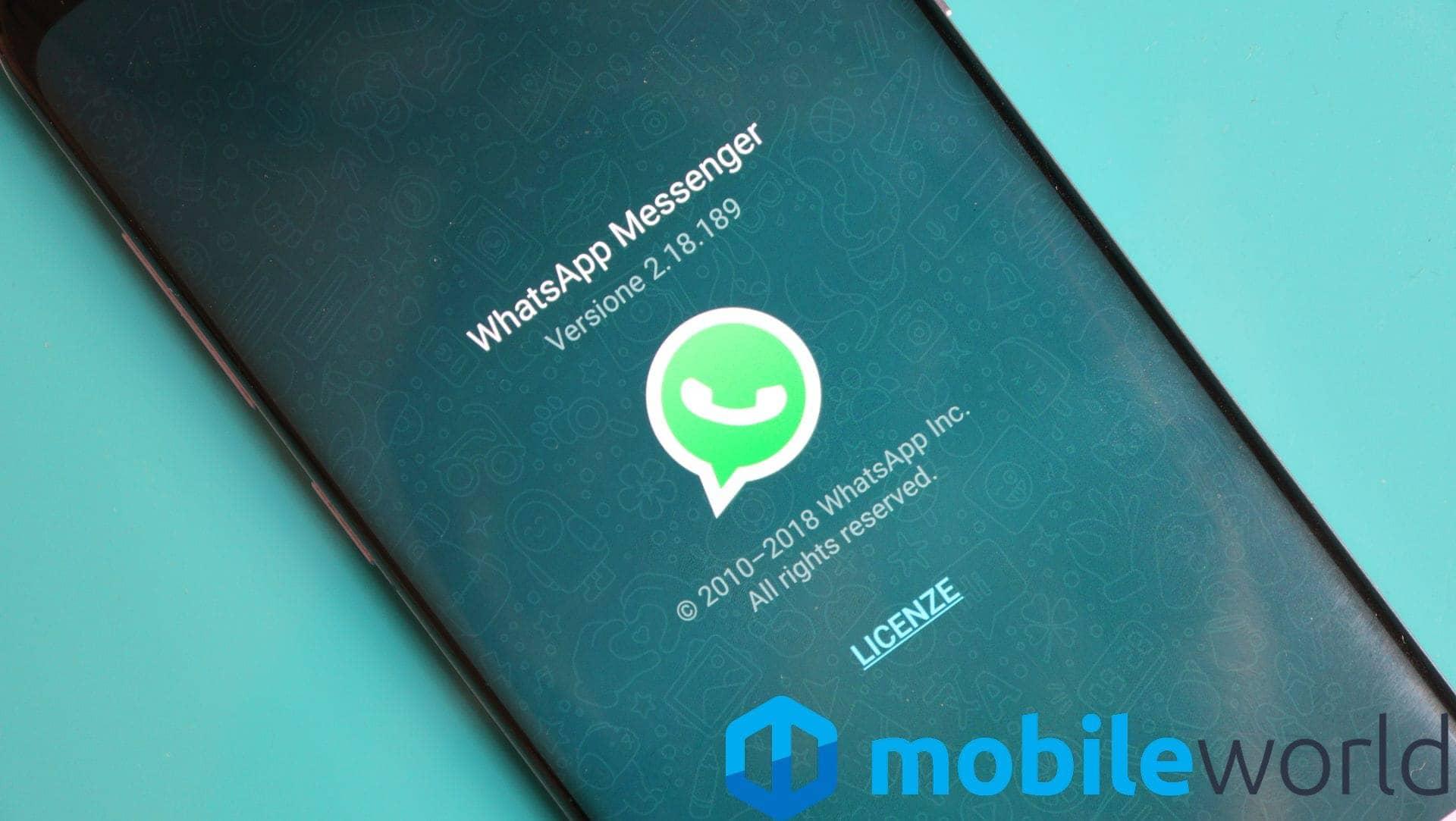 Potete intrattenere conversazioni auliche con voi stessi su WhatsApp, c'è il trucchetto (foto)