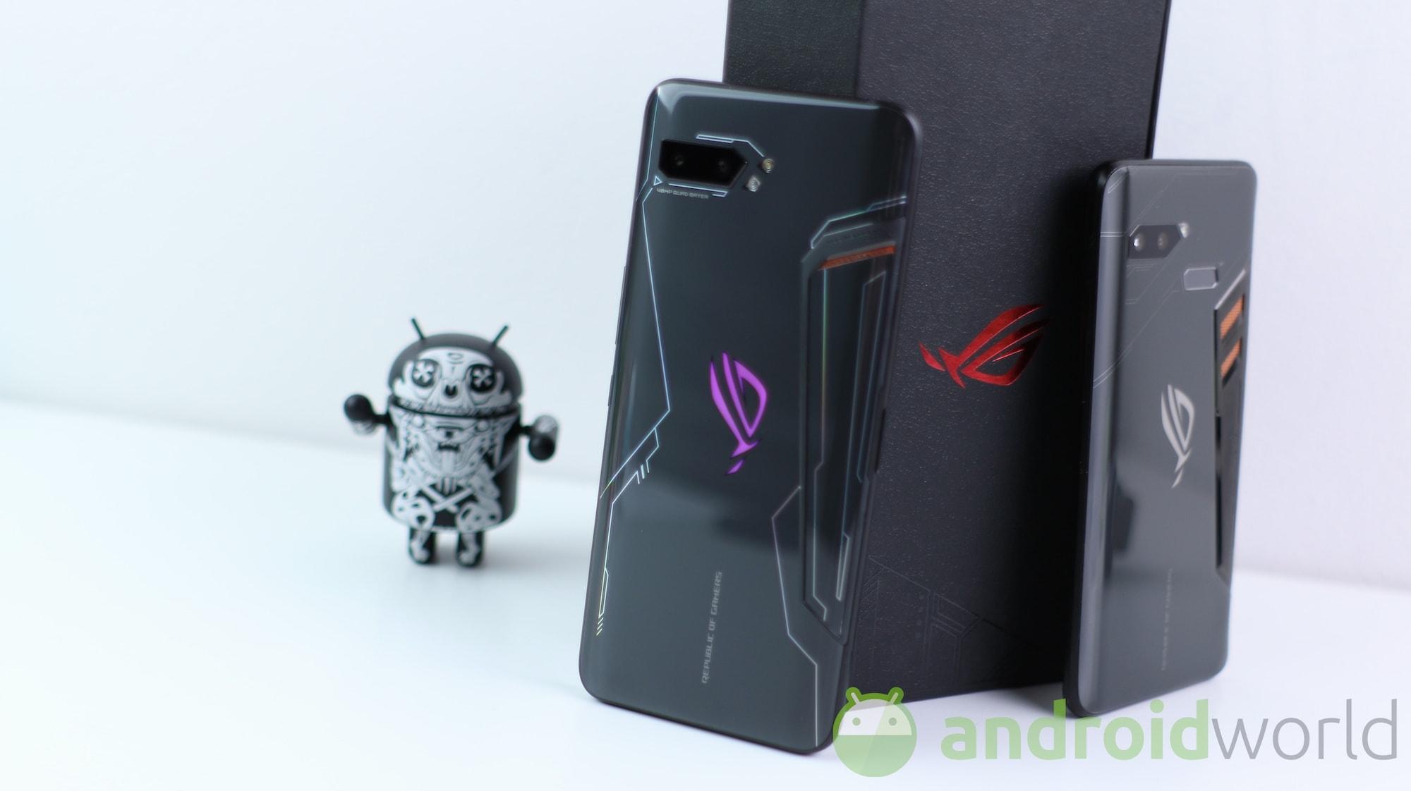 ASUS ROG Phone II si aggiorna in beta ad Android 10: ecco i link per provarla
