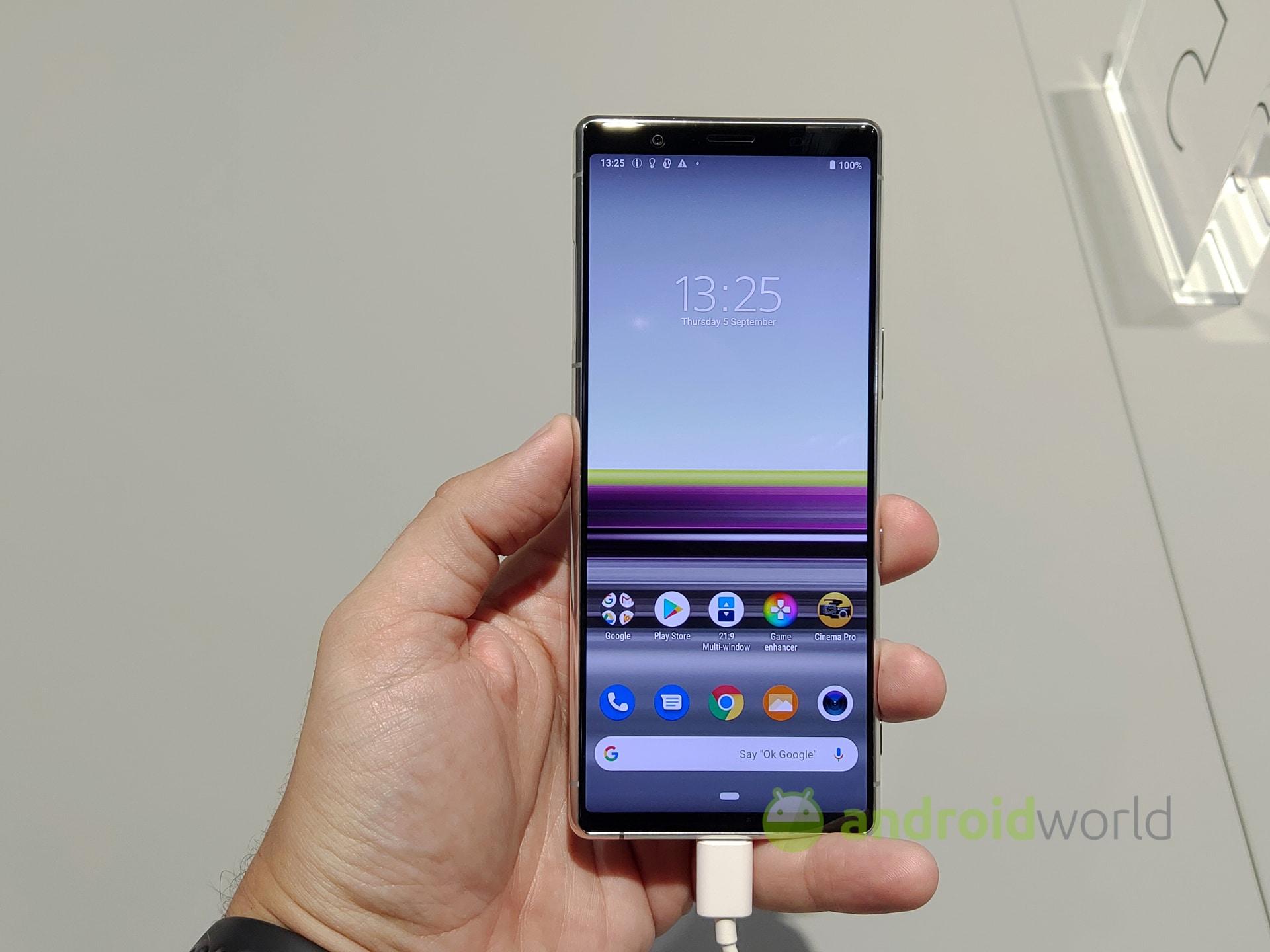 Anteprima Sony Xperia 5 – 1