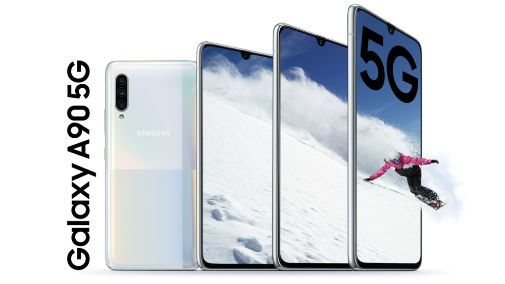Samsung Galaxy Official A90 5G: don't call it mid-range (photo) 1