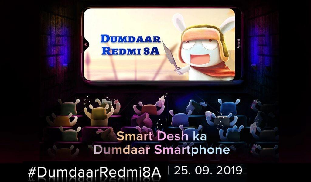 La scheda tecnica di Redmi 8A è completa: presentazione in India il 25 settembre (foto) (aggiornato)